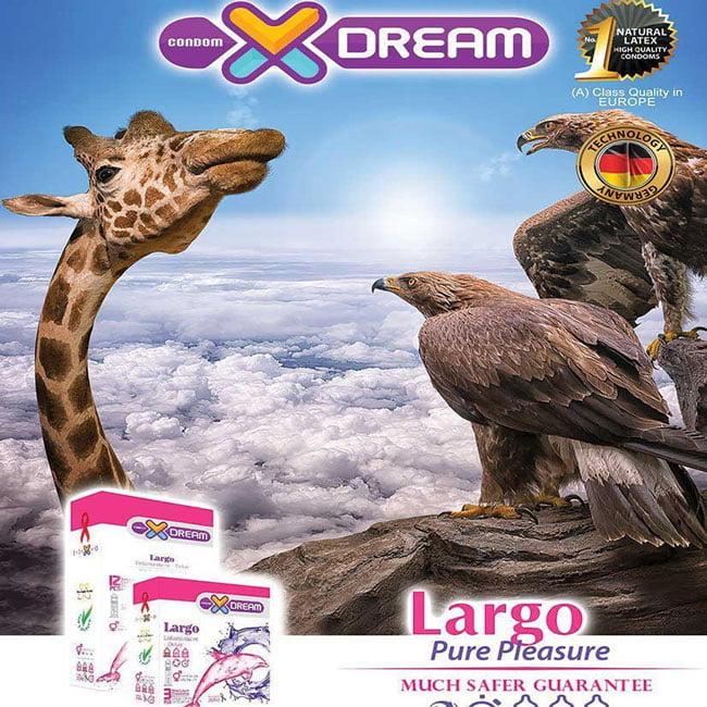 خرید کاندوم لارگو ایکس دریم - XDream Largo Condom - تیبوکا