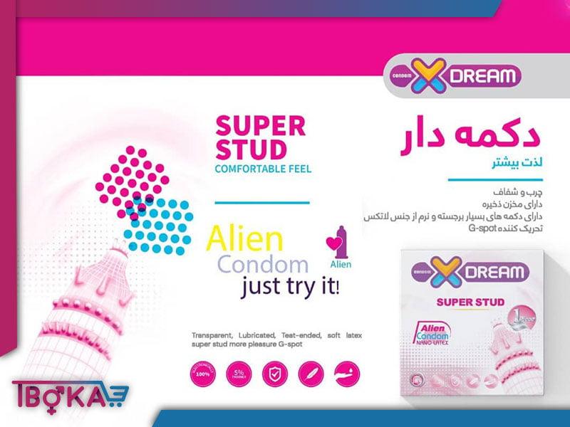محصولات ایکس دریم کاندوم فضایی | تیبوکا