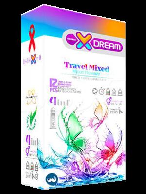 کاندوم لذت های گوناگون ایکس دریم - تیبوکا
