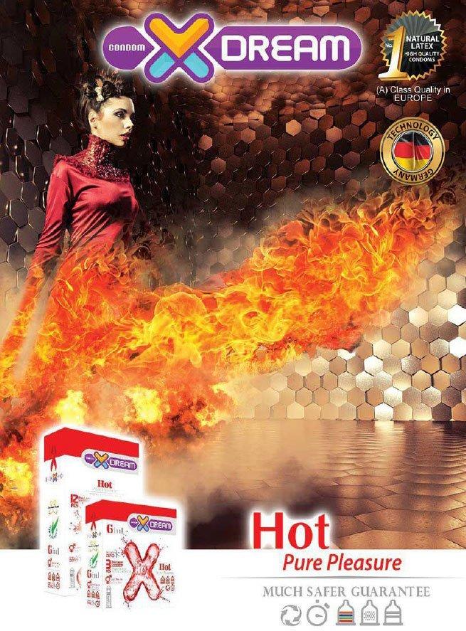 خرید کاندوم هات ایکس دریم - XDream Hot Condom