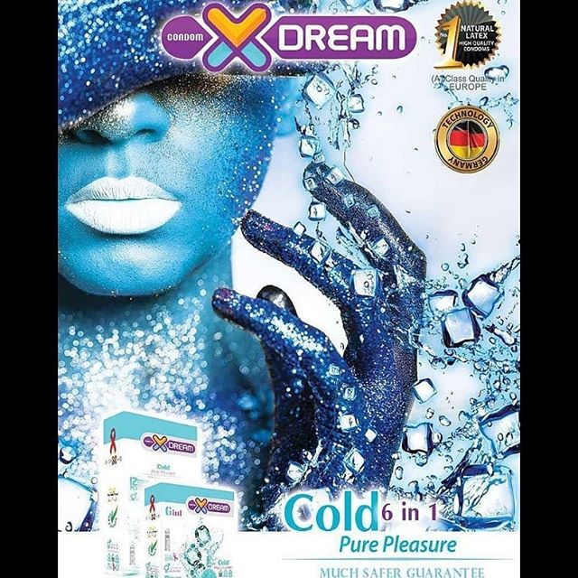 خرید کاندوم سرد ایکس دریم - تیبوکا