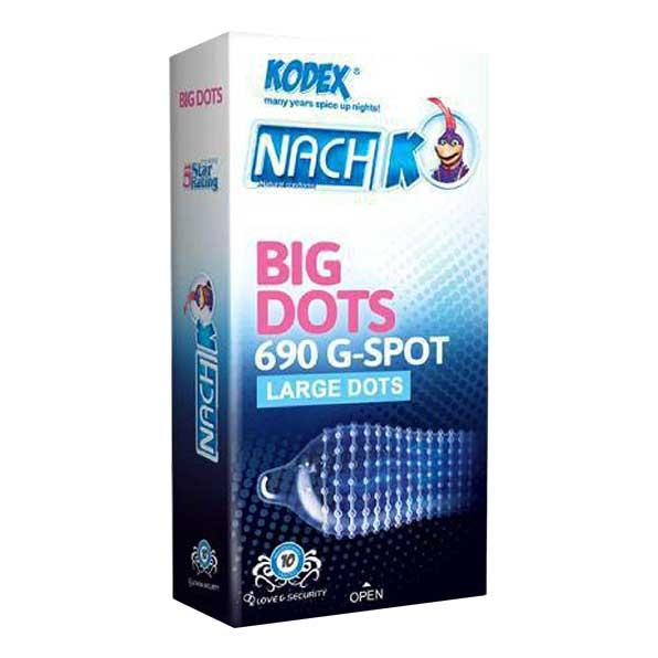 خرید اینترنتی کاندوم خاردرشت کدکس مدل big dots | تیبوکا