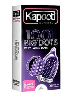 خرید اینترنتی کاندوم خاردار درشت کاپوت مدل BIG DOTS | تیبوکا