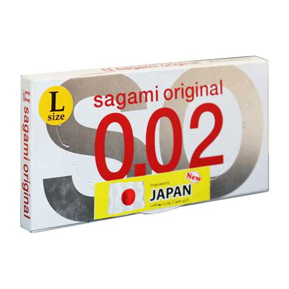 کاندوم ساگامی اورجینال ژاپن سایز لارج | تیبوکا